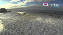 Nazare North Beach  - Wave Sessions 07-11-2013